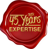 Over 45 Years Expertise