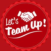 lets team up badge